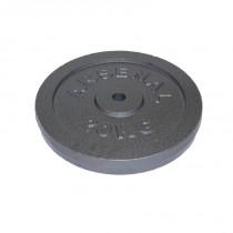 Öntöttvas súlytárcsa 20kg