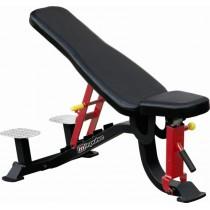 Állítható pad + edzői platform