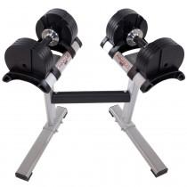 Smartlock kézi súlyzószett állvánnyal 40kg
