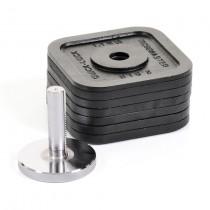 Kettlebell súlykészlet 26kg-ig Quick Lock Kettlebell-hez