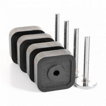 Quick Lock súlyzó kiegészítő súlyok 75kg-ig