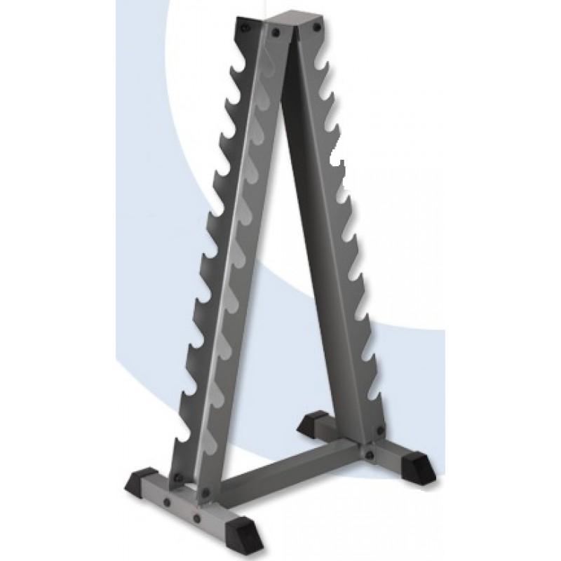 Piramis egykezes súlyzótartó állvány